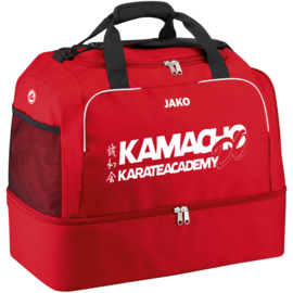 Sporttas Classico met bodemvak (+ Kamacho do karate academy groot)