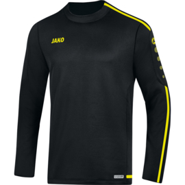 JAKO Sweater Striker 2.0 zwart-fluogeel 8819/33
