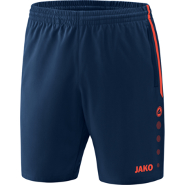 JAKO Short Competition 2.0 navy-flamme 6218/18