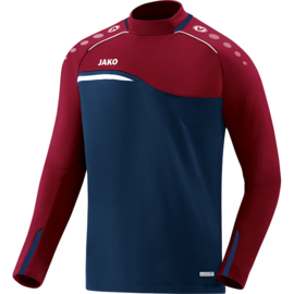 Jako  Sweater Competition 2.0 marine-donker rood 8818/09