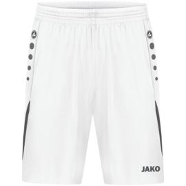 JAKO Short Challenge wit/zwart (4421/002)
