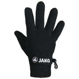 Jako Handschoenen fleece zwart 1230/08
