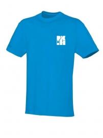 T-Shirt Team jako blauw met logo vooraan