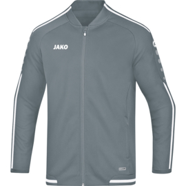 JAKO Veste de loisir Striker 2.0 gris pierre-blanc 9819/40