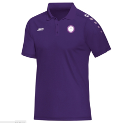 Polo classico paars (met clublogo RAMSDONK) (6350/10)