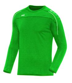 Sweater Classico sportgroen (+ Clublogo SKG)