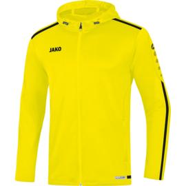 JAKO Veste à capuchon Striker 2.0 jaune fluo-noir 6819/33