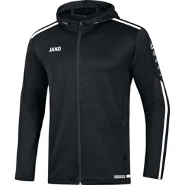 JAKO Jas met Kap striker 2.0 zwart-wit 6819/08