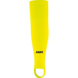 JAKO Kousen zonder voet Glasgow 2.0 fluo geel 3414/31