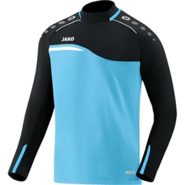 JAKO  Sweater Competition 2.0 aqua-zwart 8818/45