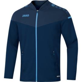 JAKO Veste de loisir Champ 2.0 marine-bleu ciel 9820/95 (NEW)