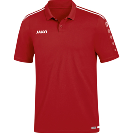 JAKO Polo Striker 2.0 chilirood-wit 6319/11
