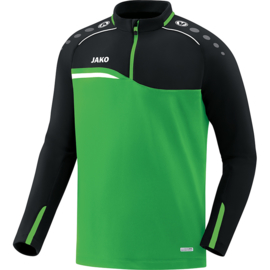 Jako  Ziptop Competition 2.0 soft groen-zwart 8618/22