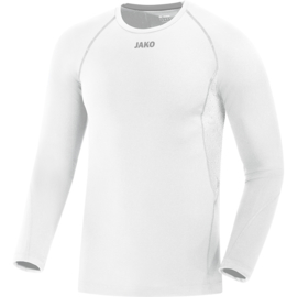 JAKO Maillot Compression 2.0 ML blanc 6451/00