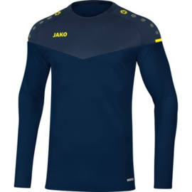 JAKO Sweater Champ 2.0 citroen- marine  8820/93