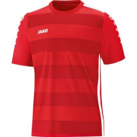 JAKO  Shirt Celtic 2.0 KM rood-wit 4205/01