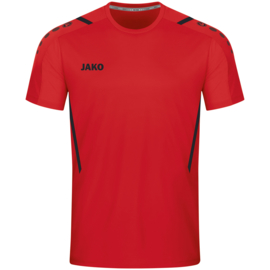 JAKO Shirt Challenge rood/zwart (4221/101)