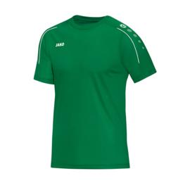 T-shirt Classico sportgroen (met clublogo  VK LINDEN) (6150/06)