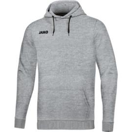 JAKO sweater met kap lichtgrijs 6765/41 (NEW)