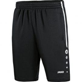Jako Trainingsshort Active zwart/wit 8595/08