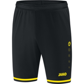 JAKO Short Striker 2.0 zwart-citroen 4429/83