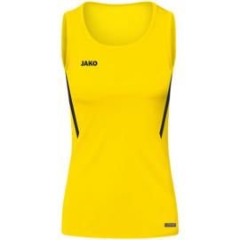 JAKO Tank top Challenge citroen/zwart  (6021/301)