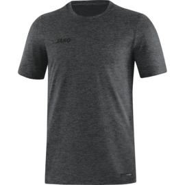 JAKO T-shirt Premium Basics antraciet gemeleerd 6129/21