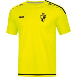 T-Shirt Striker 2.0 fluogeel/zwart (+ Clublogo SK LIERSE + keukens van lommel)(4219/33)