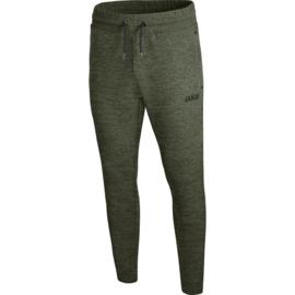 JAKO Joggingbroek Basics kaki gemeleerd 8429/28
