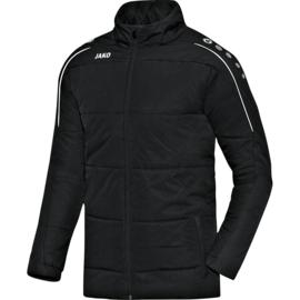 Coachvest Classico zwart (met clublogo SK LIERSE + NUMMER)