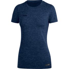 JAKO T-shirt Premium Basics marine gemeleerd 6129/49