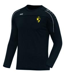 Sweater Classico zwart (+ Clublogo SK LIERSE + KEUKENS VAN LOMMEL) (8850/08)