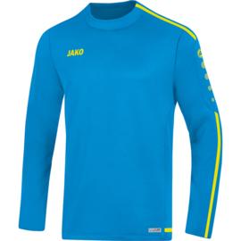 JAKO Sweater Striker 2.0 jakoblauw-fluogeel 8819/89