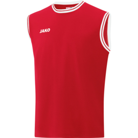 JAKO Shirt Center 2.0 rood/wit 4150/01