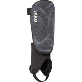Scheenbeschermer met voet zwart (2710/21)