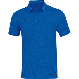 JAKO Polo Premium Basics royal gemeleerd 6329/04