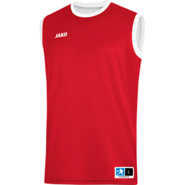 JAKO Reversible shirt Change 2.0 rood-wit 4151/01