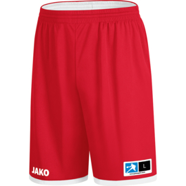 JAKO Reversible short Change 2.0 rood-wit 4451/01