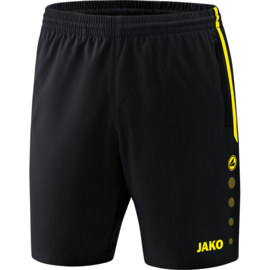 Jako Short Competition 2.0 zwart-fluogeel 6218/33