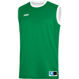 JAKO Reversible shirt Change 2.0 sportgroen-wit 4151/06
