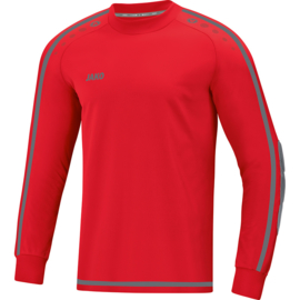 Jako Keepershirt Striker 2.0 rood-antraciet 8905/01