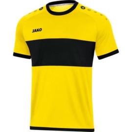 JAKO Shirt Boca KM citroen-zwart 4213/03