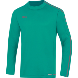 JAKO Sweater Striker 2.0 turkoois-antraciet 8819/24