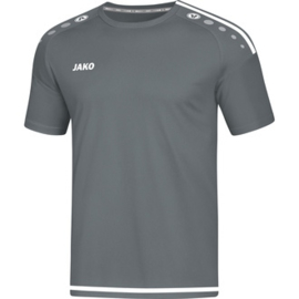 JAKO T-shirt/Maillot Striker 2.0 MC gris pierre-blanc 4219/40
