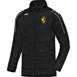 Coachvest Classico zwart (+ Clublogo SK LIER)