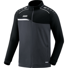 JAKO Veste polyester Competition 2.0 anthracite-noir 9318/08