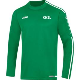 Sweater Striker 2.0 sportgroen (+ Clublogo KNZL)