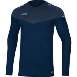 JAKO Sweater Champ 2.0 hemelsblauw- marine  8820/95 (NEW)