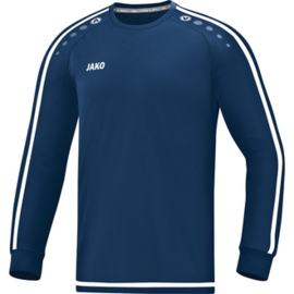 JAKO Shirt Striker 2.0 LM blauw-wit 4319/99 (NEW)