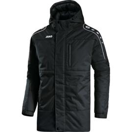 Coachvest met kap zwart (7197/08)(VK LINDEN)